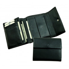 Combi Wallet ''Scotty'' Series Black & Brown