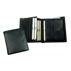 Combi Wallet ''Scotty'' Series in Black & Brown