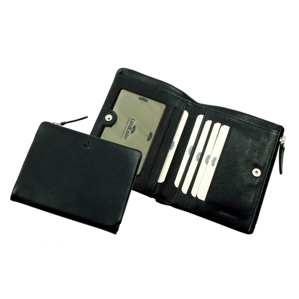 Combi Wallet ''Scotty'' Series in Black & Brown colors