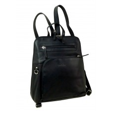 Handmade Leather Backpack from Blacky series