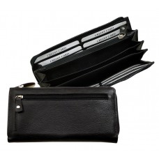 Handmade Water Resistant Soft Leather Wallet Blacky Series