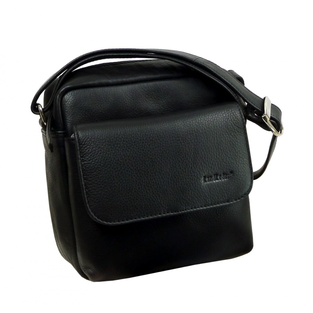 Soft Leather Water Resistant Mini Bag from Blacky Series UNISEX