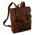 Handmade Leather Backpack from Woodland Series UNISEX