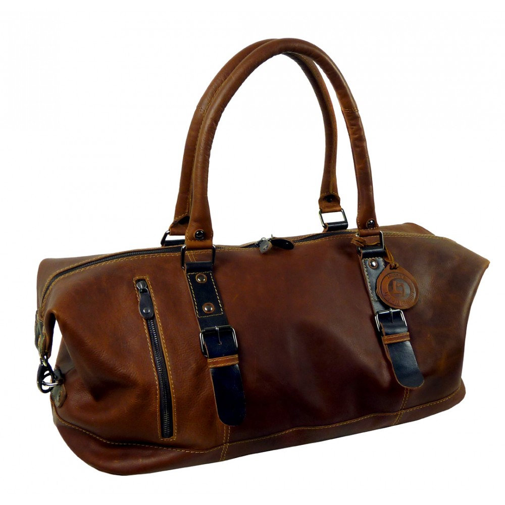 Handmade Casual Weekender/Travel Bag Woodland Series