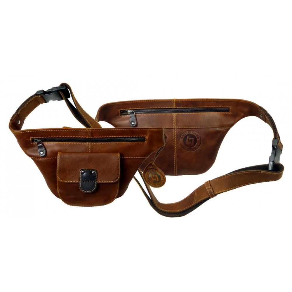 Handmade Fanny Pack / Belt Bag Woodland Series