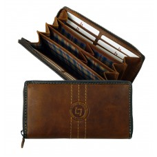 Handmade Leather Wallet Woodland Series