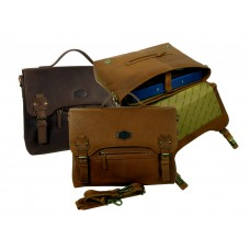 Handmade Leather Bag from Woodland Series