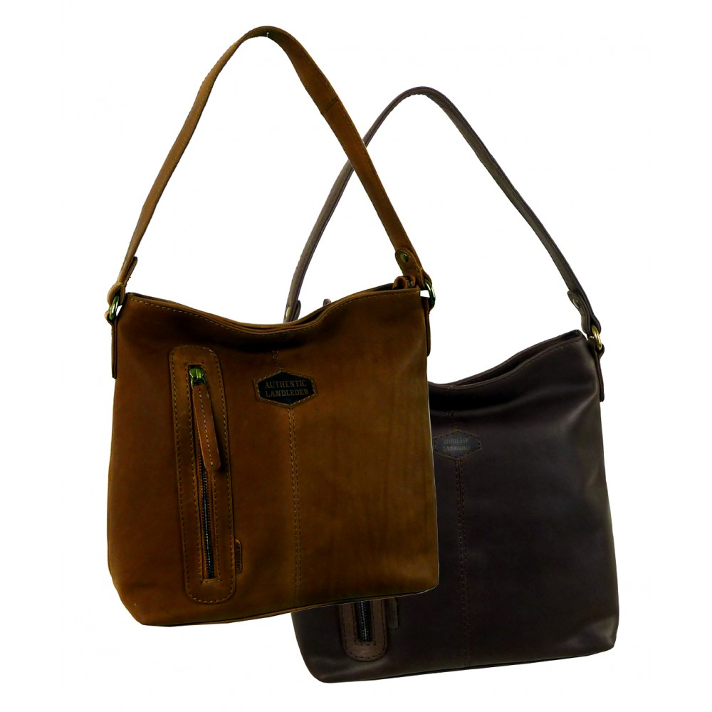 Casual Leather Bag/ Pouch Bag Woodland