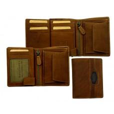 Handmade Premium Leather Wallet Woodland Series