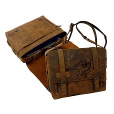 Handmade Casual Messenger/Business Bag from BULL & SNAKE Series