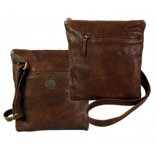 Handmade Leather Cross Bag from Woodland Series