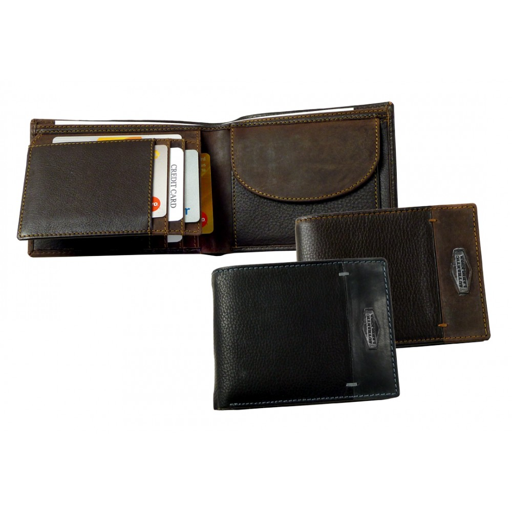Handmade Leather Wallet La Borsa